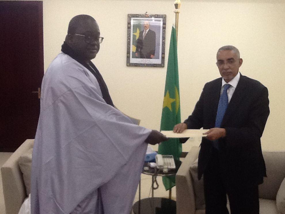 Mauritanie la visite du porte parole du khalif g n ral for Porte parole en anglais