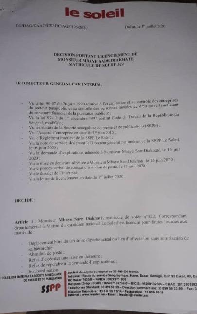 doc soleil - Senenews - Actualité au Sénégal, Politique, Économie, Sport
