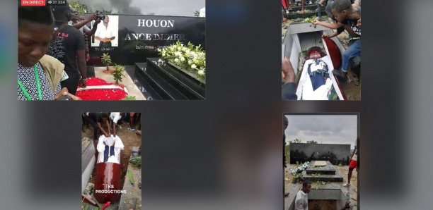 Le corps de DJ Arafat déterré après son inhumation par des fans en colère