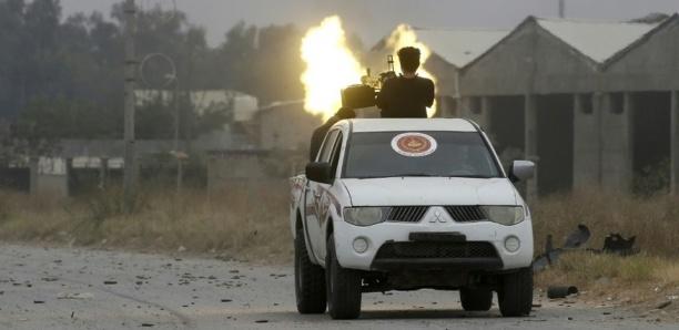 Libye: Huit membres présumés de l'EI tués dans une frappe américaine
