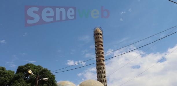 Travaux Grande mosquée de Tivaouane :