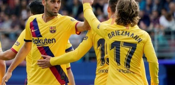 Liga : Antoine Griezmann décisif lors de la victoire du FC Barcelone à Eibar