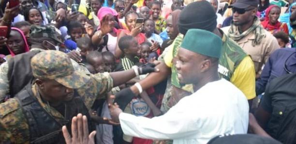 Caravane Sonko: Incident à Boki Diawé