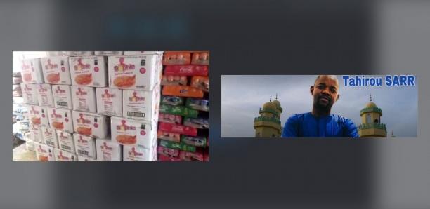Gamou-2019 : Tahirou Sarr offre d'importants lots de denrées alimentaires au département de Fouta