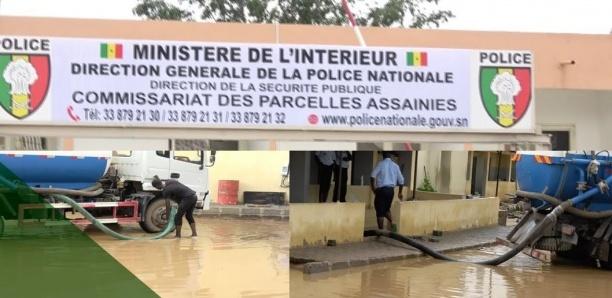 Urgent : le commissariat des Parcelles Assainies inondé