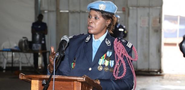Nations-Unies: Major Seynabou Diouf Femme policière de l'année
