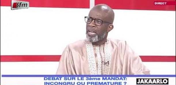 """Bouba Ndour : """"Kou dépasser 2 mandats, tu deviens un dictateur"""""""