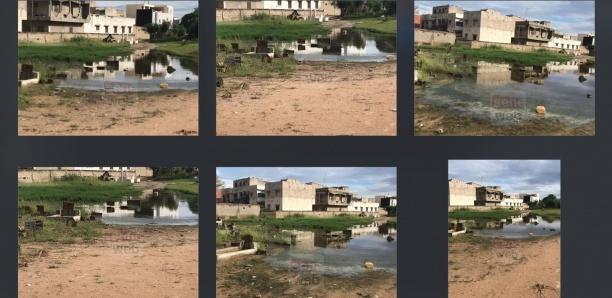 [Photos-Vidéo] Cimetière de Keur Mbaye Fall : Les tombes submergées