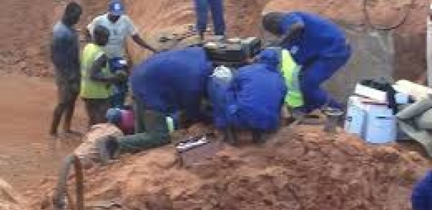 Pénurie d'eau : Le tuyau endommagé a été réparé