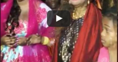 Vidéo: Revivez le baptême de Maya Diagne, épouse Ahmed Khalifa Niasse