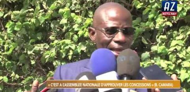 Boubacar CAMARA après son audition: