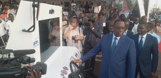 Le BRT sera d'un ''apport important'' pour les JOJ de 2022 (Macky Sall)