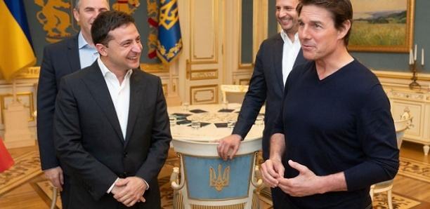 Quand Tom Cruise parle cinéma avec le président ukrainien