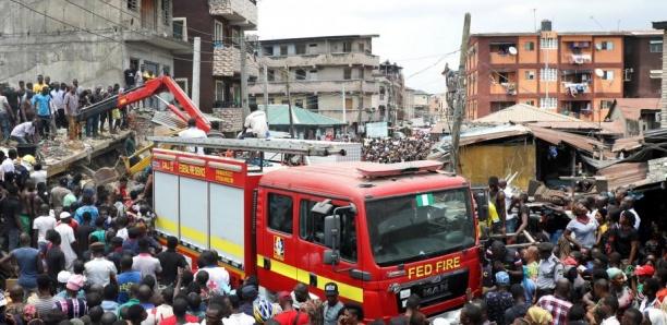 Nigeria : Un immeuble s'effondre à Lagos, des enfants pris au piège