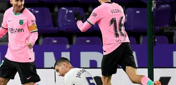 Valladolid - Barça 0-3: Messi guide le Barça et efface Pelé