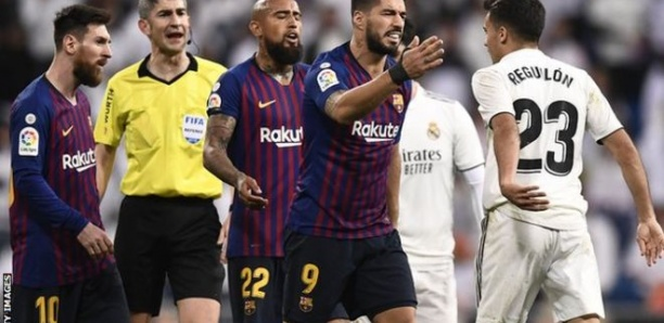 Barcelone-Real Madrid : Le Clasico reporté en raison de craintes d'agitations
