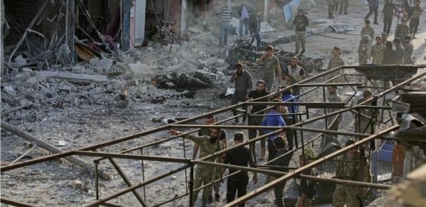 En Syrie, au moins 13 morts dans l'explosion d'une voiture piégée