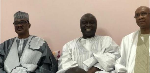 [Photos] Tivaouane: Madické Niang, Idrissa Seck et Hadjibou Soumaré sur les pas de Macky