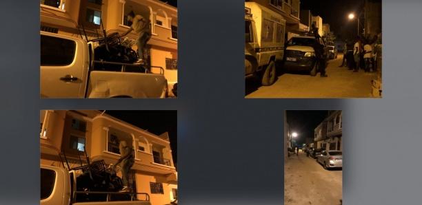 [Photos-Vidéo] Cybercriminalité : Vaste coup de filet de la police à Rufisque