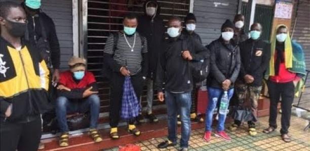 Regardez le Traitement ihumain que subissent les Africains actuellement à Guangzhou