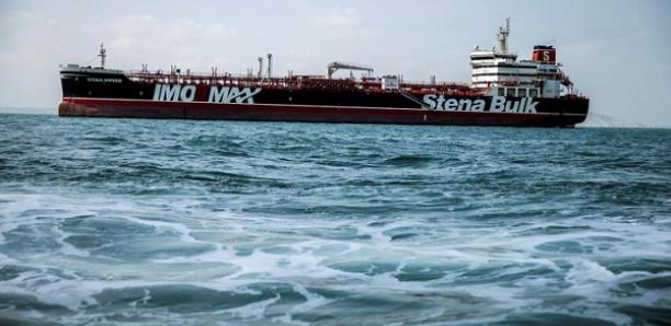 Sept membres d'équipage d'un pétrolier suédois arraisonné par l'Iran vont être libérés