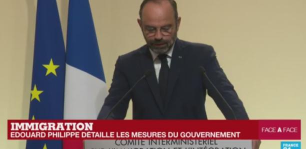 Réforme de l'immigration en France : Édouard Philippe dévoile les mesures prévues