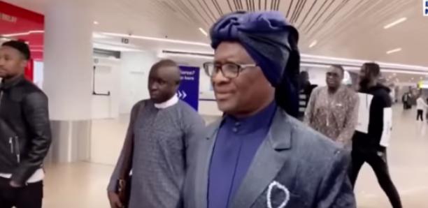 Serigne Modou Kara à Bruxelles pour le baptême de la fille d'un joueur sénégalais