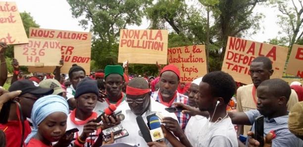 Expropriation de leurs terres : Menacées par les industriels, les populations de Bandia dans la rue