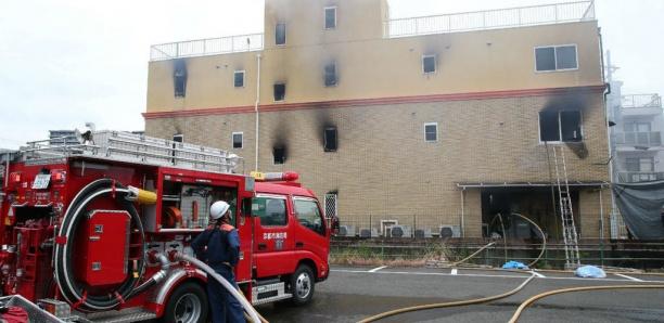 Incendie meurtrier dans un studio d'animation à Kyoto