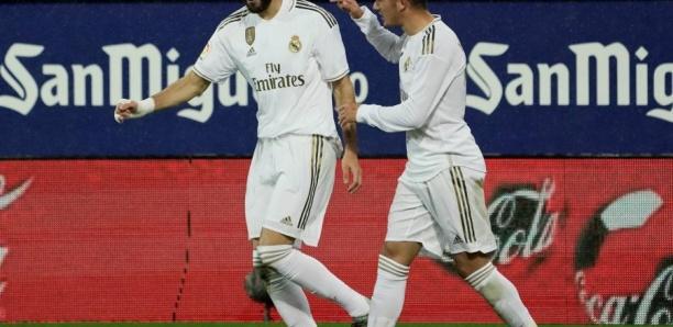 Liga: Benzema et le Real s'amusent à Eibar