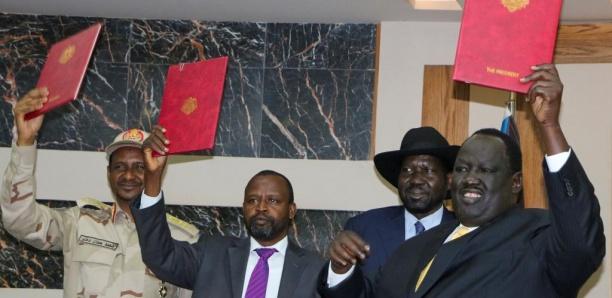 Soudan: un accord d'étape pour la paix signé avec le Front révolutionnaire