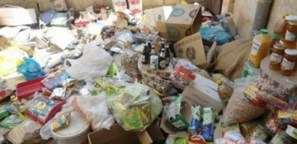 Danger à Tamba : 70 tonnes de produits impropres à la consommation saisis en moins d'une année