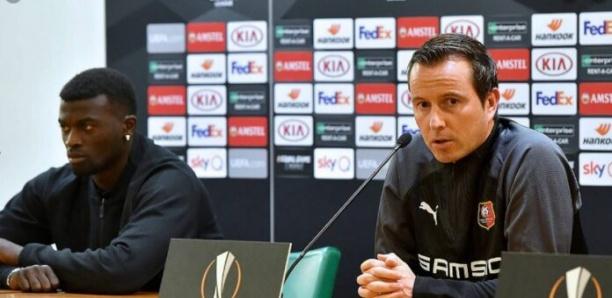 Le coach de Rennes dément Cissé : «Mbaye Niang n'a jamais joué sous infiltration»