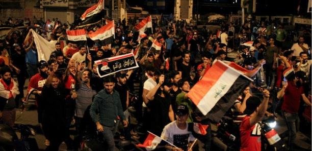 Reprise des manifestations antigouvernementales en Irak