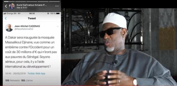 Réponse de Dieuwrigne Mbackiou FAYE à Jean-Michel CADENAS sur Massalikoul Djinane