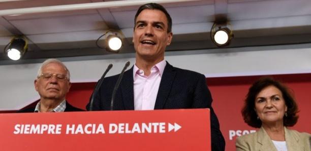 En Espagne, le socialiste Pedro Sanchez grand vainqueur des européennes