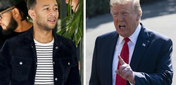John Legend insulte Donald Trump et l'appelle à démissionner