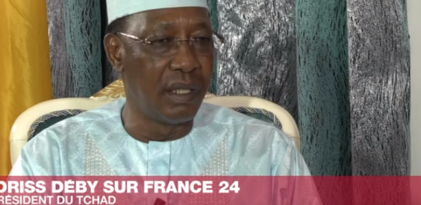 Idriss Déby sur France 24 :