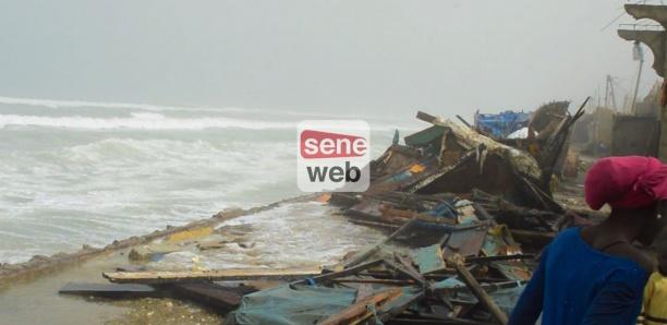 [Grand reportage]<br>Érosion côtière : Saint-Louis, Kayar, Bargny…, les côtes sénégalaises en voie de disparition
