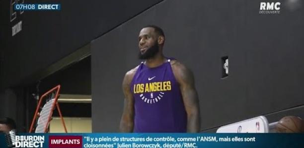 NBA : LeBron James dépasse Michael Jordan