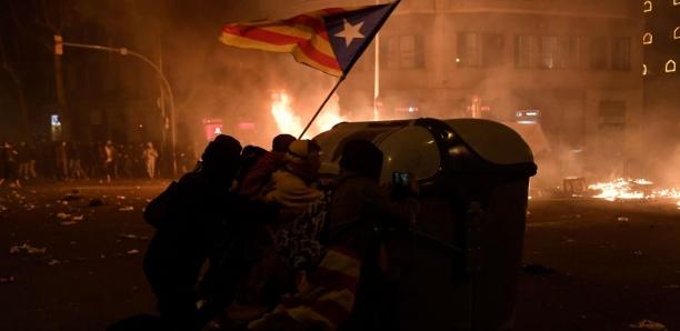 Espagne: les violences s'exacerbent dans le centre de Barcelone