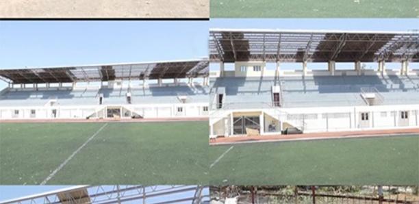 1ère pluie à Ziguinchor / Une partie du toit du stade Aline Sitoé Diatta s'est envolée.