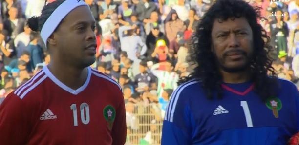 Match de gala: El Hadji Diouf ridiculise Higuita et vole la vedette à Ronaldinho [Vidéo]