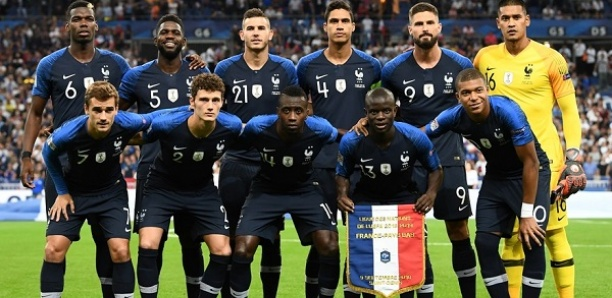 Classement FIFA: la France récupère la deuxième place, derrière la Belgique