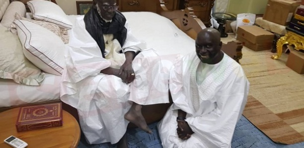 Idrissa Seck reçu par Serigne Mountakha cet aprés-midi