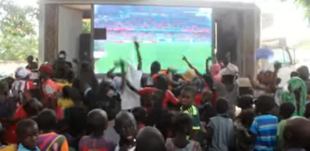 Finale Sénégal-Algérie : Sadio Mané offre un écran géant à Bambaly
