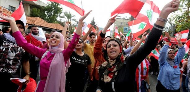 Les manifestations au Liban sont