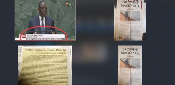 Plus de 100 millions au Financial Times pour une publicité : Macky Sall et la RTS pris en flagrant délit de