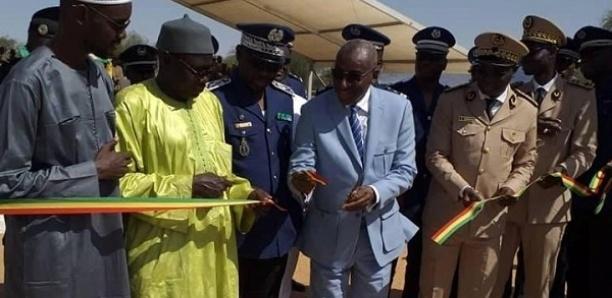 Linguère : Sidiki Kaba réceptionne la nouvelle brigade de l'escadron de surveillance et d'Intervention