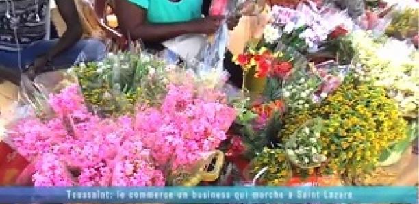 Toussaint: Le commerce de fleur, un business qui marche à Saint Lazare
